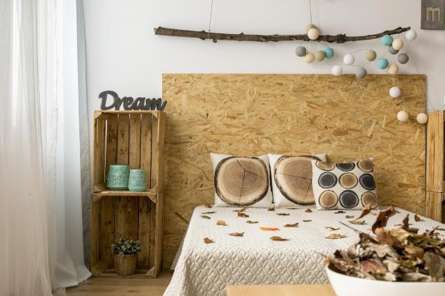 dekoracje do sypialni, aranżacja wnętrz